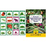 Sahaya 16 VARIETIES OF SUMMER VEGETABLE QUALITY SEEDS COMBO KIT FOR KITCHEN/TERRACE/POLY HOUSE GARDEN FOR HEALTHY...