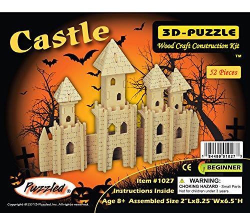 Puzzled Castle 3D Wooden Puzzle (Castle Model Wood compare prices)