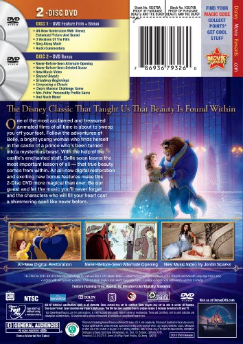 beauty and the beast video store online