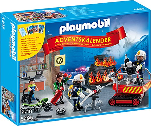 5495 Advent Calendar 'fire Fighters' 5495 5495 By Playmobil