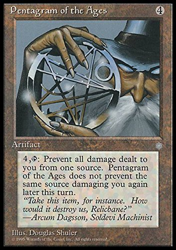 Magic: the Gathering - Pentagram of the Ages - Pentagramma delle Ere - Ice Age