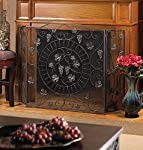 VERDUGO GIFT CO Vineyard Estate Fireplace Screen from VERDUGO GIFT CO