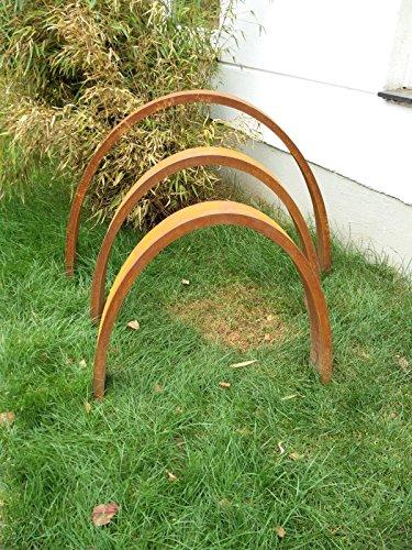 Garteninspiration gartenskulptur gartenstecker 3 stk neu - Gartenskulpturen holz ...