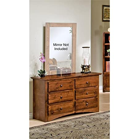 Chelsea Home Furniture 3524470-C Dresser with 6 Drawer