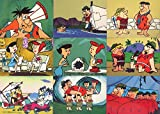 RETURN OF THE FLINTSTONES 1994 CARDZ COMPLETE BASE CARD SET OF 60