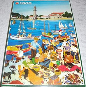HUNCHBACK OF NOTRE DAME 1500 Piece Puzzle