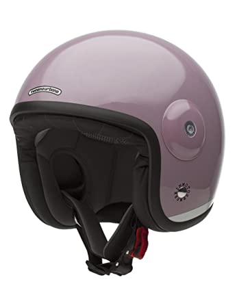 Tucano urbano 1100403 eL'fibreglass mET casque double usage, or, with without visor-rose pastel taille s