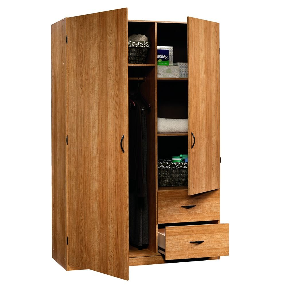 large storage cabinet storage shelves wardrobe armoire. Black Bedroom Furniture Sets. Home Design Ideas