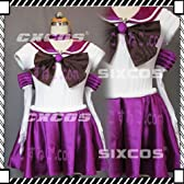 美少女戦士 セーラームーン セーラーサターン 土萌ほたる 風 コスプレ衣装 男女S~4L 大きいサイズ/オーダーサイズ可能