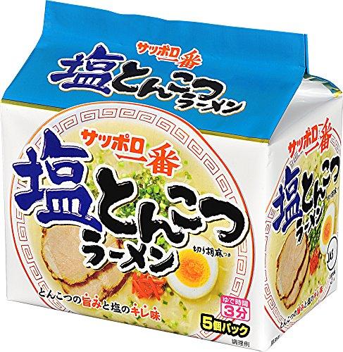 サッポロ一番 塩とんこつラーメン 5食×6個