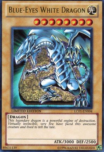 ... Cards & Accessories > Yu-Gi-Oh Card - LC01-EN004 - BLUE-EYES WHITE