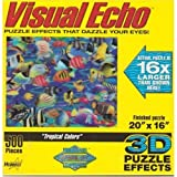 Tropical Colors 3-D Jigsaw Puzzle 500 Piece