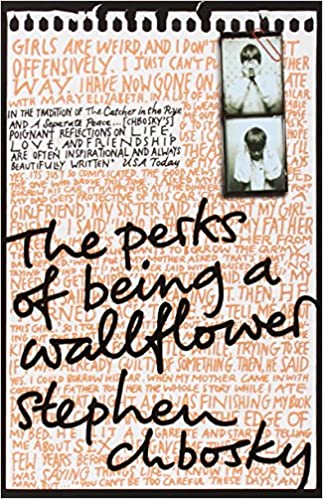 The cover of 'The Perks of Being a Wallflower'