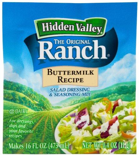 Hidden Valley Ranch Dressing Dry Mix, Original Buttermilk, 0.4-Ounce Packets (Pack of 24)