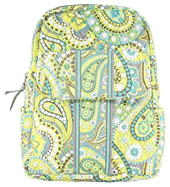 Vera Bradley Backpack in Lemon Parfait