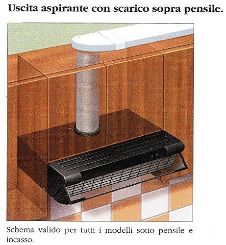 Faber accessori raccordo rrc - Scarico cappa cucina ...