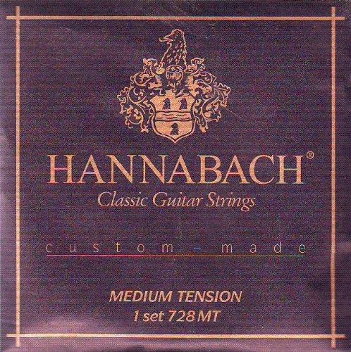 Hannabach Classical Guitar Medium Tension Nylon/Silver,