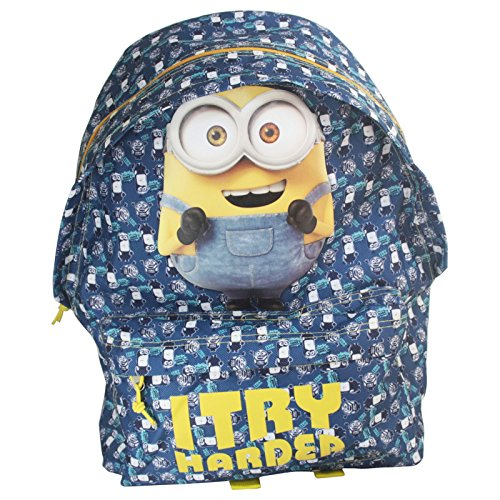 Minions-Googles-Backpack-Daypack-Travel-Bag-Freetime
