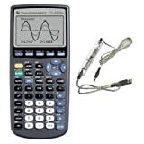 Texas Instruments TI-83 Plus Graphing Calculator with TI-Connectivity Kit-USB Cable