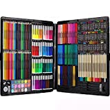 258 Piecs Inspiration Art Set for Drawing and Sketching Colored Pencils Crayons Case Painting Set