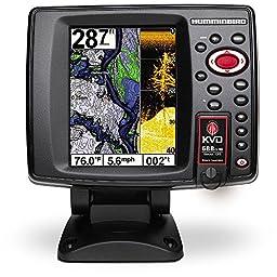 Humminbird 688ci HD DI KVD Combo GPS/Fishfinder with Navionics Plus SD Card