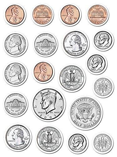 Creative Teaching Press Coins Stickers (4128) - 1