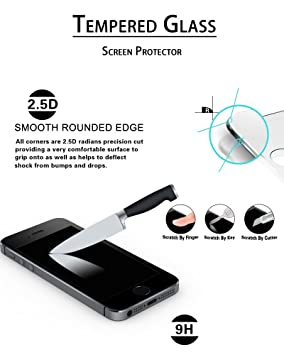 Sans Bulles Protection en Verre Tremp/é /Écran pour Samsung Galaxy S5 Duret/é 9H Film Protection /Écran Vitre 1 Pi/èces The Grafu/® Verre Tremp/é Galaxy S5