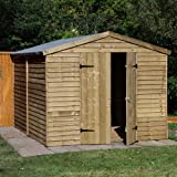 10 x 8 Shed Republic Essential Pressure Treated Overlap Security Workshop