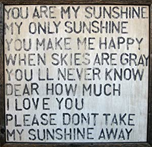 Amazon.com - Sugarboo Designs Art Print AP113 You are My Sunshine ...
