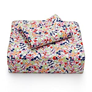 Tommy Hilfiger Vintage Floral Sheet Set, Twin XL