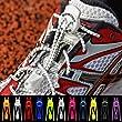 """Sprint Laces - elastische Schuhb�nder f�r Running, Triathlon, Trekking, Fitness, Freizeit, etc. Farbe """"Bright Orange"""""""