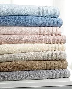 "Hotel Collection Bath Towels, Microcotton Luxury 30"" X 54"" Bath Towel Mercury"