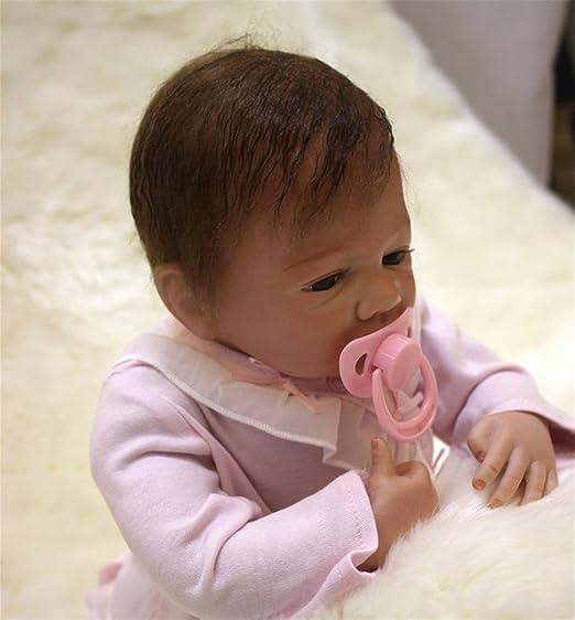 Terabithia 18 pouces Lifelike Cute Collectible Reborn bébé Fille Garçon Poupées