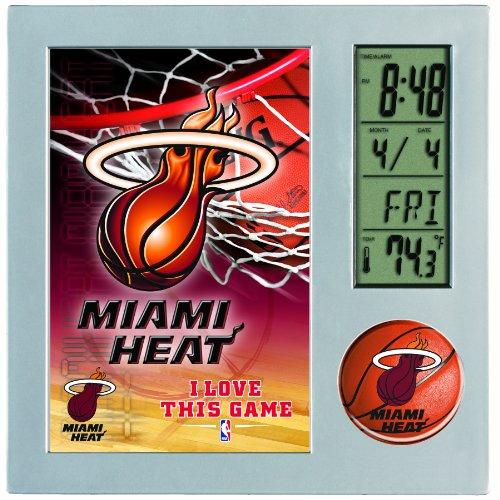 NBA Miami Heat Digital Desk Clock