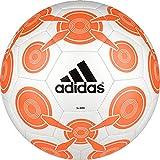 adidas Performance Ace Glider II Soccer Ball, White/Solar Orange/Black, 3
