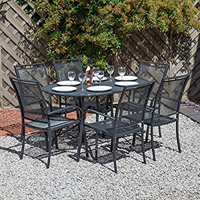 Alfresia Miami Garden Furniture Set for 6 with Cushions - Choice of Colours