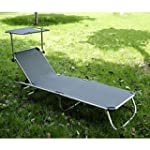 Outsunny Patio Lounge Chaise Outdoor...