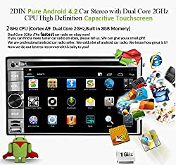 See Android 4.2 Universal 6.2 Inch In-Dash Car DVD Player Multi-Touch Capacitive with 3G WIFI GPS Navigation RDS IPOD Bluetooth Touch Screen Details