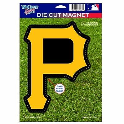 MLB Pittsburgh Pirates Die Cut Logo Magnet