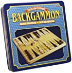 Backgammon Pieces and Board - Wood