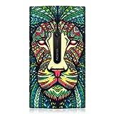Head Case Designs Coque arri�re de protection pour Nokia Lumia 920 Motif lion de style azt�que