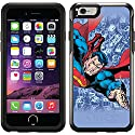 Superman - City Background design on a Black OtterBox® Symmetry Series® Case for iPhone 6