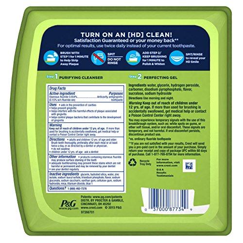 Crest佳洁士 Pro-Health HD 消炎防蛀美白 牙膏套装图片