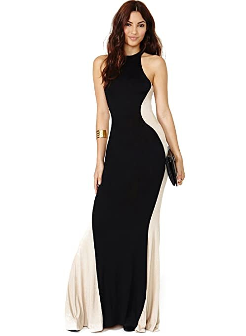 Anni Coco Women's Slim Evening Maxi Dresses