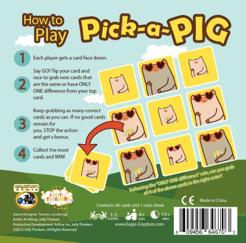 Pick a Pig Card Game - 1