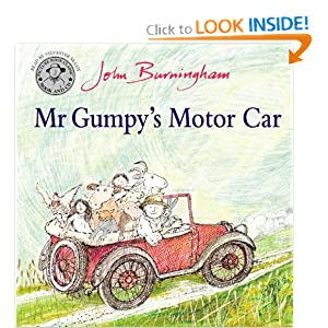 Mr Gumpy's Motor Car: Book and CD