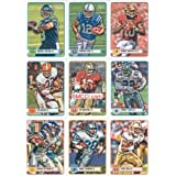 2012 Topps Magic Football Series Complete Mint Hand Collated Basic 220 Card Set. It Has a Fantastic Player Selection...