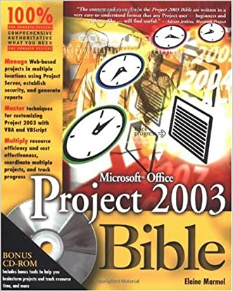 Microsoft Office Project 2003 Bible (Bible (Wiley))