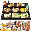 ORCARA Miniature Dollhouse Fast Food…