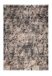 CT RUGS Contemporary Scroll Pattern Area Rug 6\'7\'\'x9\'6\'\'